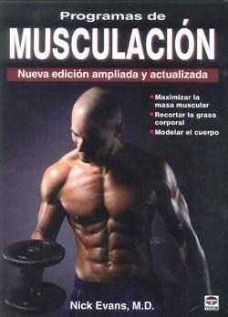 Portada de Programas De Musculacion: Nueva Edicion Ampliada Y Actualizada