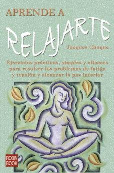 Portada de Aprende A Relajarte