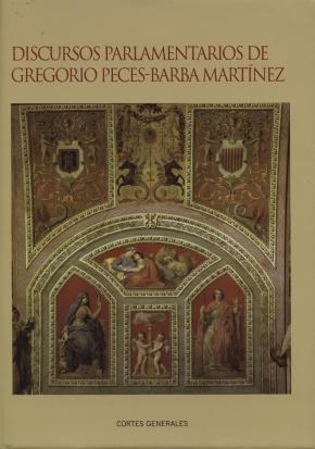 Portada de Discursos Parlamentarios De Gregorio Peces-barba Martinez