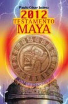 Portada de 2012 Testamento Maya