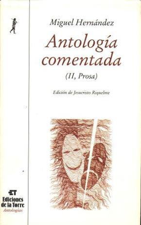 Portada de Antologia Comentada (t. Ii, Prosa)