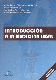 Portada de Introduccin A La Medicina Legal