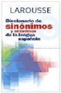 Portada de Diccionario De Sinonimos Y Antonimos De La Lengua Española