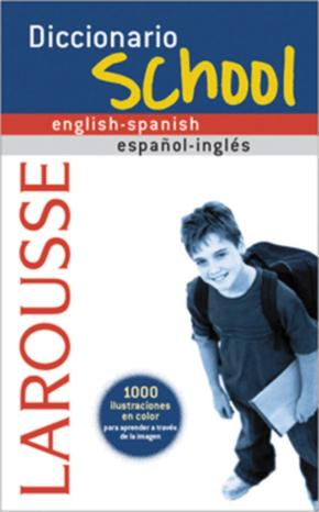 Portada de Diccionario Larousse School English-spanish / Español-ingles