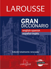 Portada de Gran Diccionario:english-spanish Español-ingles