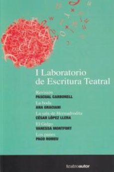 Portada de I Laboratorio De Escritura Teatral