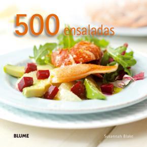 Portada de 500 Ensaladas