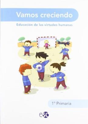 Portada de Vamos Creciendo 1 Educacion Primaria 1 Ed 2009