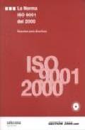 Portada de La Norma Iso 9001 Del 2000: Resumen Para Directivos
