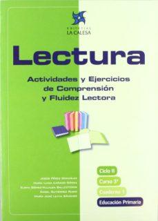Portada de Lectura 3º Libro 1: Actividades Y Ejercicios De Comprension Y Flu Idez Lectora