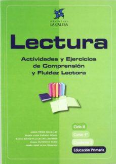 Portada de Lectura 4º Libro 2: Actividades Y Ejercicios De Comprension Y Flu Idez Lectora