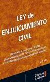 Portada de Ley Enjuiciamiento Civil