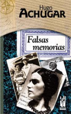 Portada de Falsas Memorias