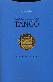 Portada de Musica Y Poesia Del Tango