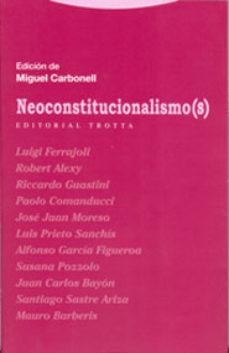 Portada de Neoconstitucionalismo(s)