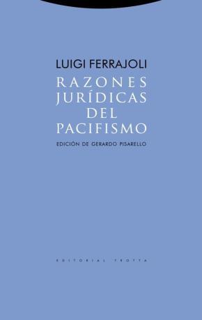 Portada de Razones Juridicas Del Pacifismo