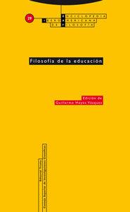 Portada de Filosofia De La Educacion