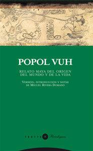 Portada de Popol Vuh: Relato Maya Sobre El Origen Del Mundo