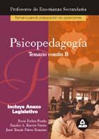 Portada de Psicopedagogia, Temario Parte B: Preparacion Profesores Educacion Secundaria