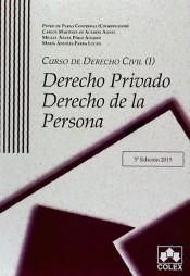 Portada de Curso De Derecho Civil I. Derecho Privado. Derecho De La Persona (5ª Ed)
