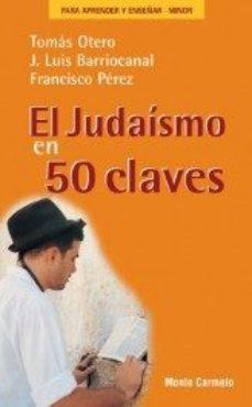 Portada de El Judaismo En 50 Claves
