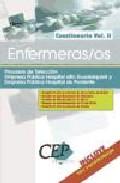 Portada de Enfermeras/os Procesos De Seleccion Empresa Publica Hospital Alto Guadalquivir Y Empresa Publica Hospital De Poniente: Cuestionario (vol. Ii)