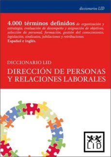 Portada de Diccionario Lid Direccion De Personas Y Relaciones Laborales