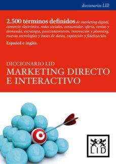Portada de Diccionario Lid De Marketing Directo E Interactivo