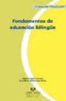 Portada de Fundamentos De Educacion Bilingue