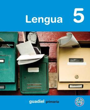 Portada de Lengua: 5º Primaria Proyecto En Ruta (andalucia)