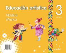 Portada de Educacion Artistica 3º Educacion Primaria (andalucia)