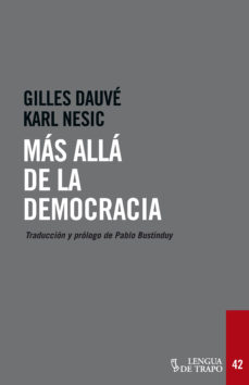 Portada de Mas Alla De La Democracia
