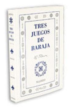 Portada de Tres Juegos De Baraja.