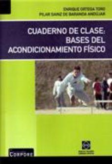 Portada de Cuaderno De Clase: Bases Del Acondicionamiento Fisico