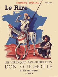 Portada de Les Veridiques Aventures D`un Don Quichotte A La Manque (le Rire)