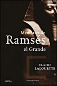 Portada de Memorias De Ramses Del Grande
