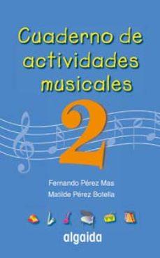 Portada de Cuaderno De Actividades Musicales 2 (primaria, 2º)