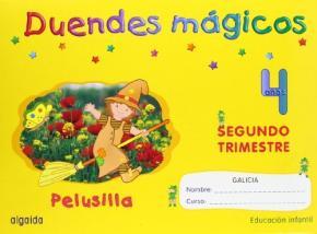 Portada de Duendes Magicos: Pelusilla (4 Años Educacion Infantil)(2º Trimest Re)