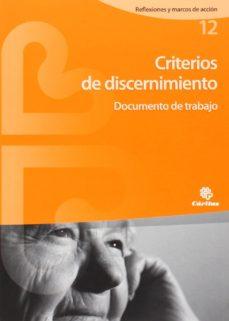 Portada de Criterios De Discernimiento