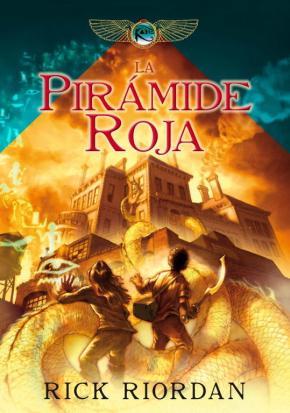Portada de La Piramide Roja ( Cronicas De Kane 1)
