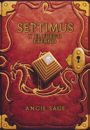 Portada de Septimus Y El Fuego Eterno