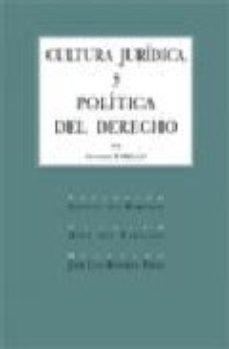 Portada de Cultura Juridica Y Politica Del Derecho