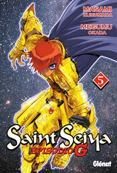 Portada de Saint Seiya: Los Caballeros Del Zodiaco Episodio G Nº 5