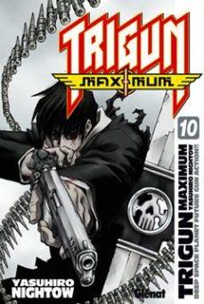 Portada de Trigun Maximum 10