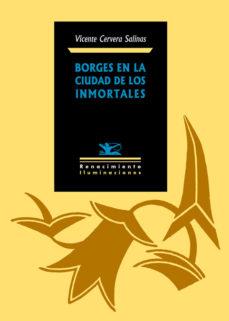 Portada de Borges En La Ciudad De Los Inmortales