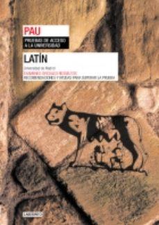 Portada de Latin: Prueba De Acceso A La Universidad: Pau