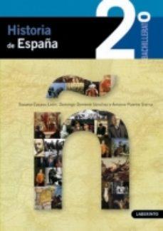 Portada de Historia De España (2º Bachillerato)