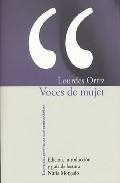 Portada de Voces De Mujer (edicion, Introduccion Y Guia De Lectura Nuria Mor Gado)