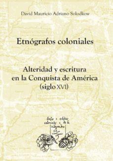 Portada de Etnografos Coloniales
