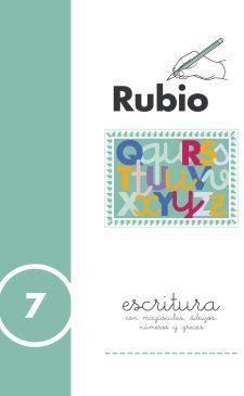 Portada de Escritura Rubio, N. 7